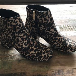 Kenneth Cole Reaction Shoes - Leopard booties